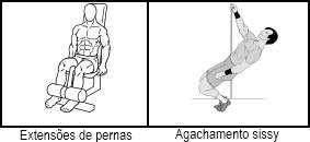 exercicios isolamento quadriceps
