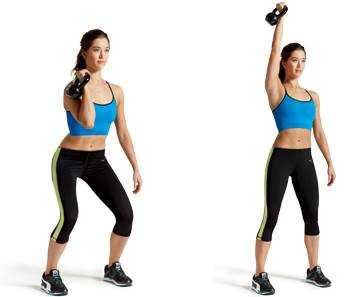 Push Press com Kettlebell