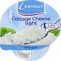 Queijo Cottage Light Linessa